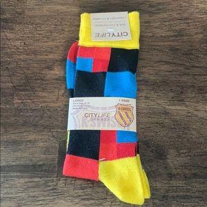K-Swiss Underwear & Socks - K-Swiss city life crew socks
